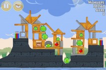 Angry Birds Seasons Back to School Level 1-13 Walkthrough