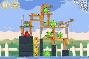 Angry Birds Seasons Back to School Level 1-14 Walkthrough