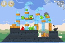 Angry Birds Seasons Back to School Level 1-15 Walkthrough