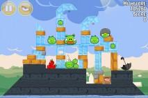 Angry Birds Seasons Back to School Level 1-15 Walkthrough