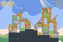 Angry Birds Seasons Back to School Level 1-16 Walkthrough