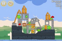 Angry Birds Seasons Back to School Level 1-17 Walkthrough
