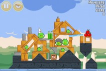 Angry Birds Seasons Back to School Level 1-19 Walkthrough