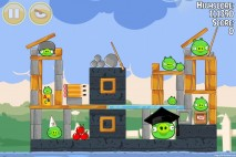 Angry Birds Seasons Back to School Level 1-20 Walkthrough