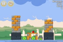 Angry Birds Seasons Back to School Level 1-5 Walkthrough
