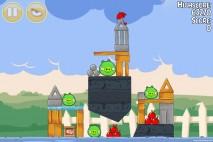 Angry Birds Seasons Back to School Level 1-6 Walkthrough