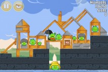 Angry Birds Seasons Back to School Level 1-8 Walkthrough