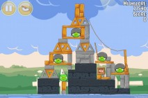 Angry Birds Seasons Back to School Level 1-9 Walkthrough