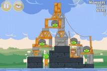Angry Birds Seasons Back to School Level 1-9 Walkthrough