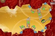 Angry Birds Space Golden Eggsteroid #11 (E-11) Walkthrough | Viking