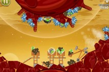 Angry Birds Space Golden Eggsteroid #12 (E-12) Walkthrough | Sojourner