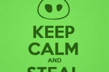 Bad Piggies Keep Calm and Steal Eggs