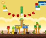 Angry Birds Chrome Logo Location Level 12-12