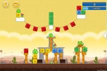 Angry Birds Chrome Dimension Level #19 Walkthrough