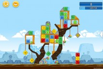 Angry Birds Chrome Dimension Level #20 Walkthrough