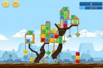 Angry Birds Chrome Dimension Level #20 Walkthrough