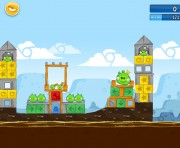 Angry Birds Chrome Logo Location Level 14-9