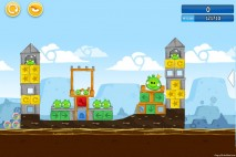 Angry Birds Chrome Dimension Level #21 Walkthrough