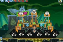 Angry Birds Friends Green Day Level 11 Walkthrough