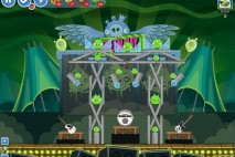 Angry Birds Friends Green Day Level 13 Walkthrough