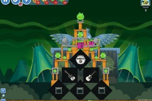 Angry Birds Friends Green Day Level 14 Walkthrough