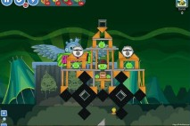 Angry Birds Friends Green Day Level 15 Walkthrough
