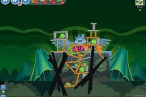 Angry Birds Friends Green Day Level 17 Walkthrough