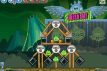 Angry Birds Friends Green Day Level 18 Walkthrough