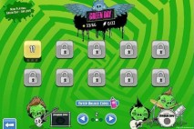 Angry Birds Friends Green Day Level Selection Screen 2