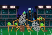 Angry Birds Philadelphia Eagles Level 4 vs NY Giants Walkthrough
