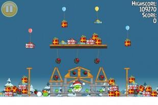 Angry Birds Seasons Greedings Golden Egg #2 Walkthrough