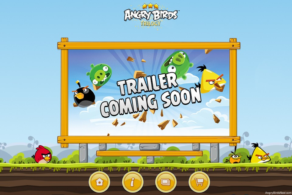 Angry Birds Trilogy Home
