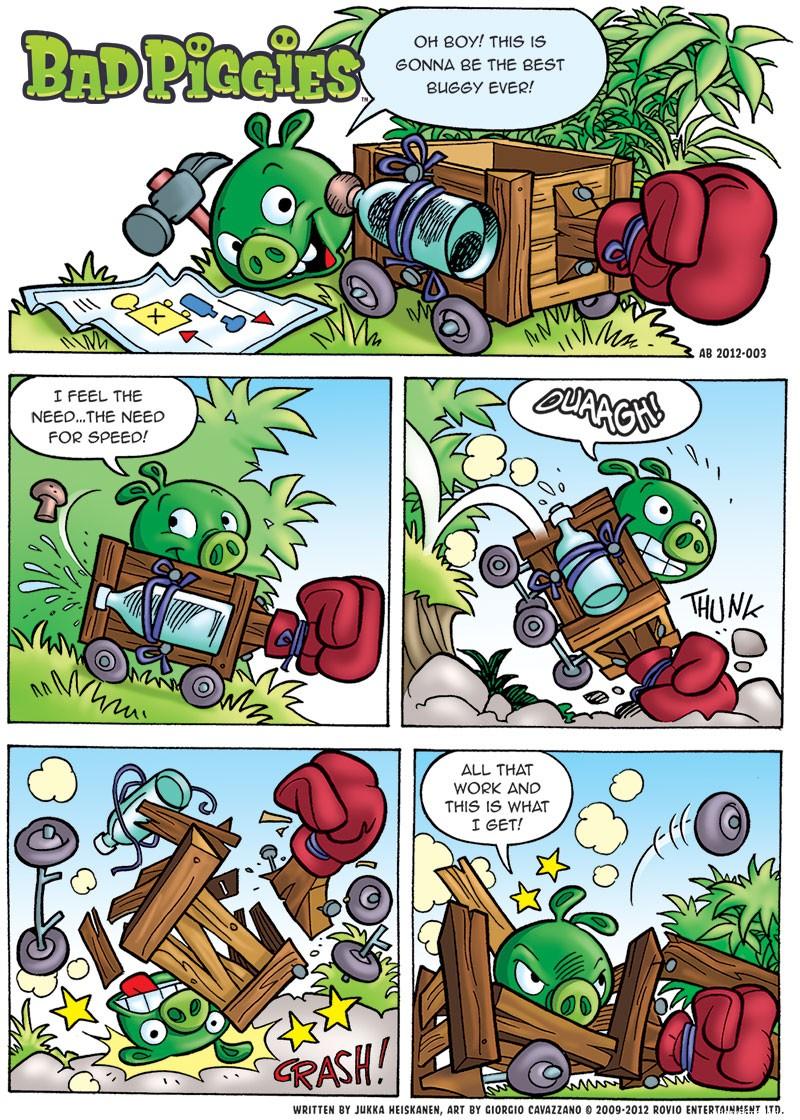 Bad Piggies Comic all parts AngryBirdsNest
