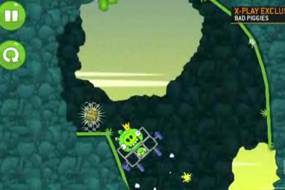 Bad Piggies Fisrt Look G4 Gameplay Screen