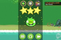 Bad Piggies Fisrt Look G4 Level Completion Screen