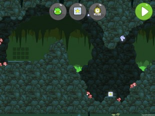 Bad Piggies When Pigs Fly Bonus Level 3-III Walkthrough