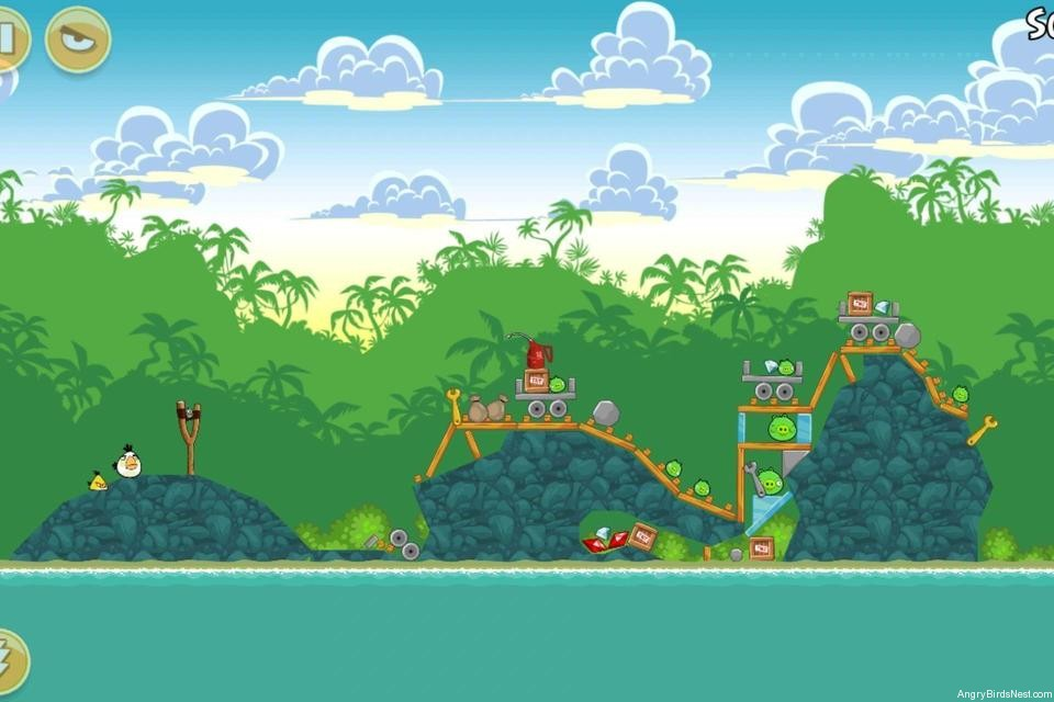 Angry Birds Bad Piggies Level 19-1