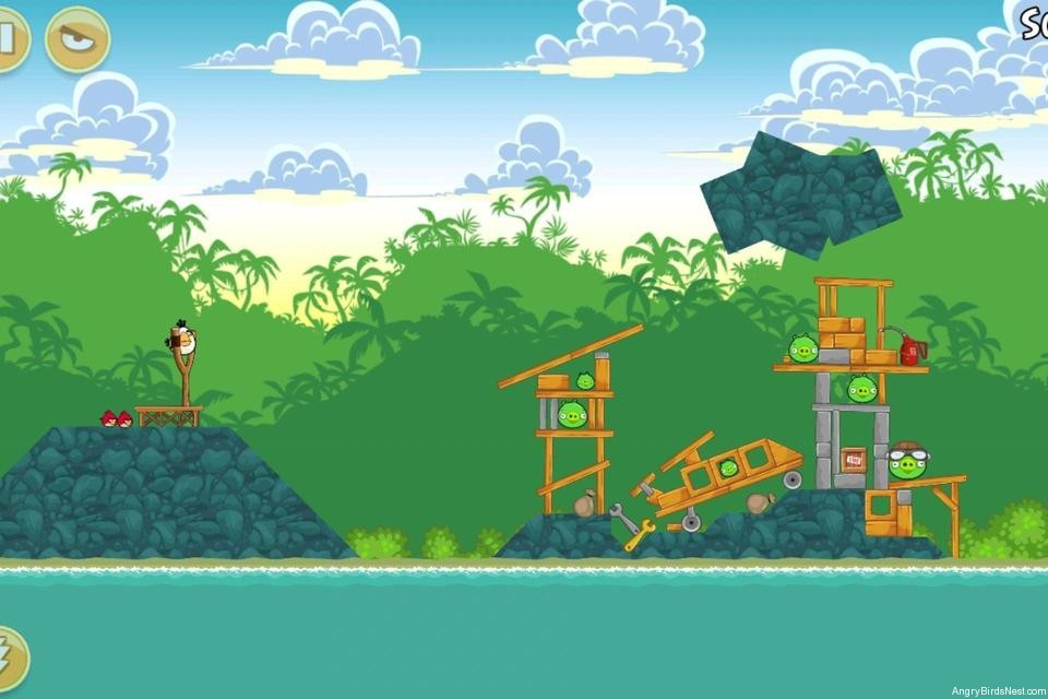Angry Birds Bad Piggies Level 19-2