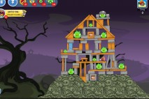 Angry Birds Friends Halloween Tournament Level 5 – Week 24 – October 29th