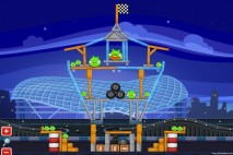 Angry Birds Heikki Yas Marina Walkthrough