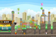 Angry Birds McDonald's Level #2 Walkthrough
