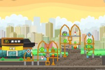 Angry Birds McDonald's Level #3 Walkthrough