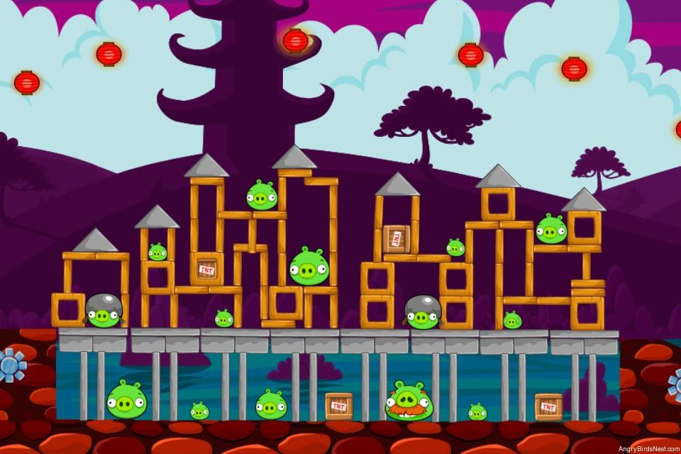 Angry Birds McDonalds MoonCake Level 2 Image