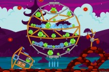 Angry Birds McDonald's Mooncake Level #3 Walkthrough