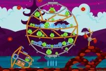 Angry Birds McDonald's Mooncake Level #3 Walkthrough