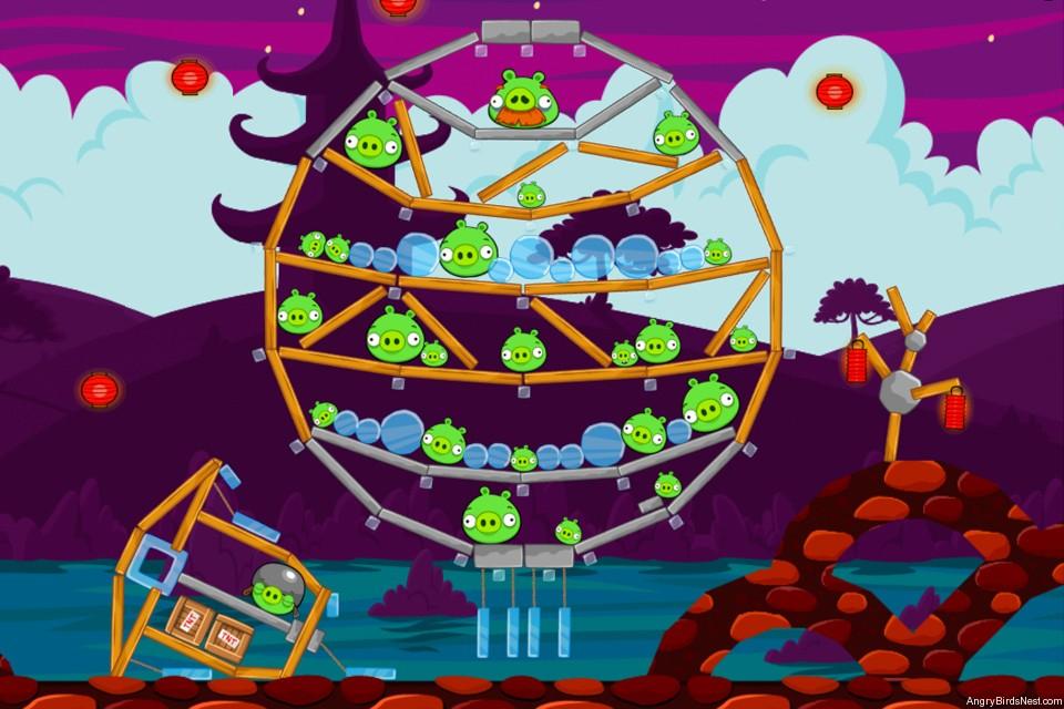 Angry Birds McDonalds MoonCake Level 3 Image