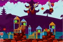 Angry Birds McDonald's Mooncake Teaser Level 2 Walkthrough