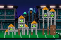 Angry Birds Philadelphia Eagles Level 6 at Detroit Walkthrough