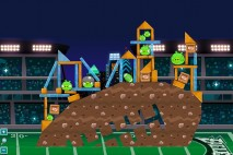 Angry Birds Philadelphia Eagles Level 7 at Atlanta Walkthrough