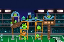Angry Birds Philadelphia Eagles Level 8 vs. New Orleans Walkthrough